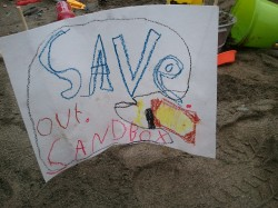 Save Our Sandbox