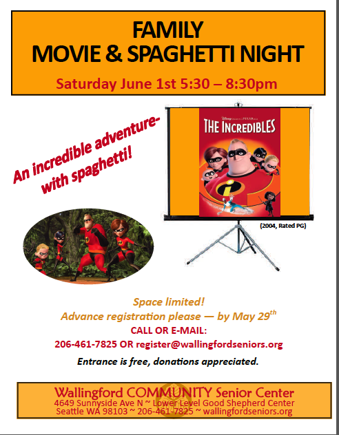 WCSC Spaghetti Night Jun1